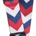 Red, White And Blue Arrow Luggage Strap