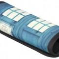 Blue police box handle wrap