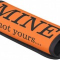 Orange Mine Not Yours Handle Wrap