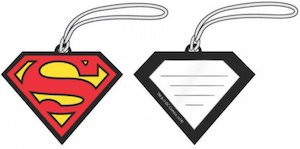 Superman Logo Luggage Tag