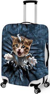 breakout kitten suitcase cover