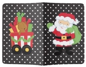 Santa And Presents Passport Cover
