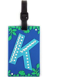 Letter Luggage Tag