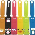 6 Cute Animal Luggage Tags
