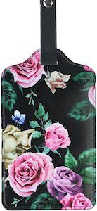 Luggage Tag With Roses