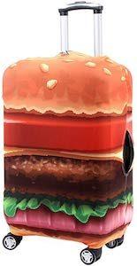 Hamburger Suitcase Cover