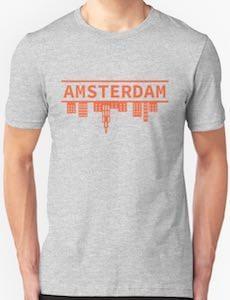 Upside Down Amsterdam T-Shirt