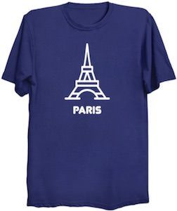 The Tower Of Paris T-Shirt