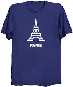 The Tower Of Paris T-Shirt