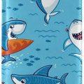 Fun Sharks Passport Holder
