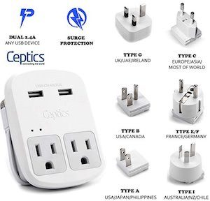 Travel Charger With USB
