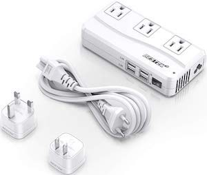 Travel Charger With Voltage Changer
