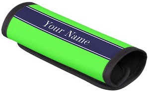 Personalized Ribon Handle Wrap