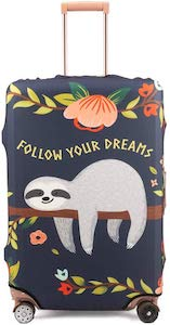 Sloth Follow Your Dream Suitcase Cover
