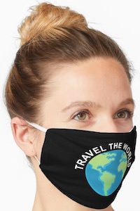 Travel The World Face Mask