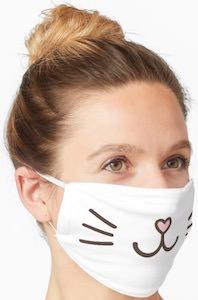 Cute Cat Face Mask