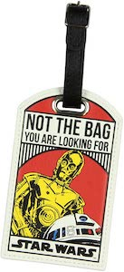 Star Wars Droids Luggage Tag