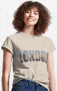 London With Skyline T-Shirt