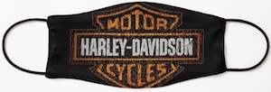Harley Davidson Logo Face Mask